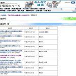 平成28年熊本地震に関する対応状況等 > 関係通知等【内閣府】